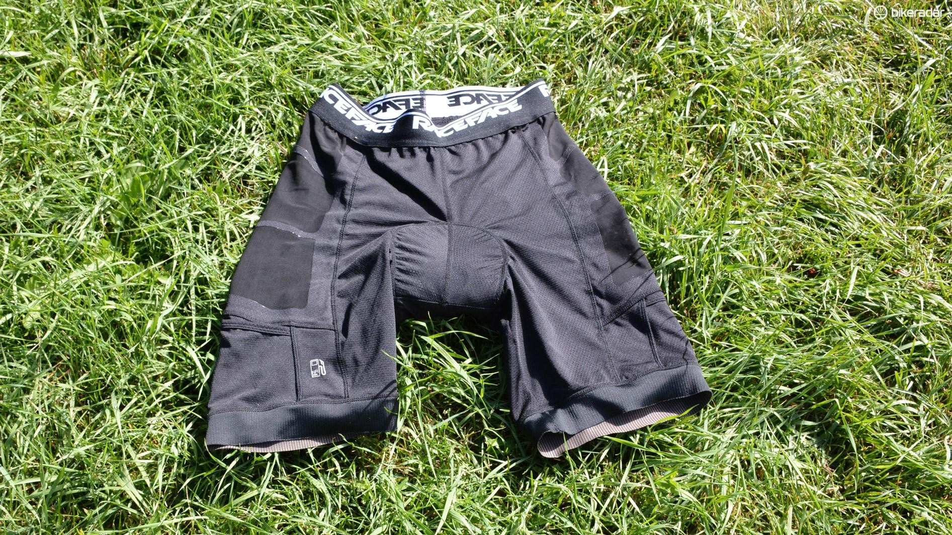 Race Face's Stash Liner shorts have a couple of worthy extras