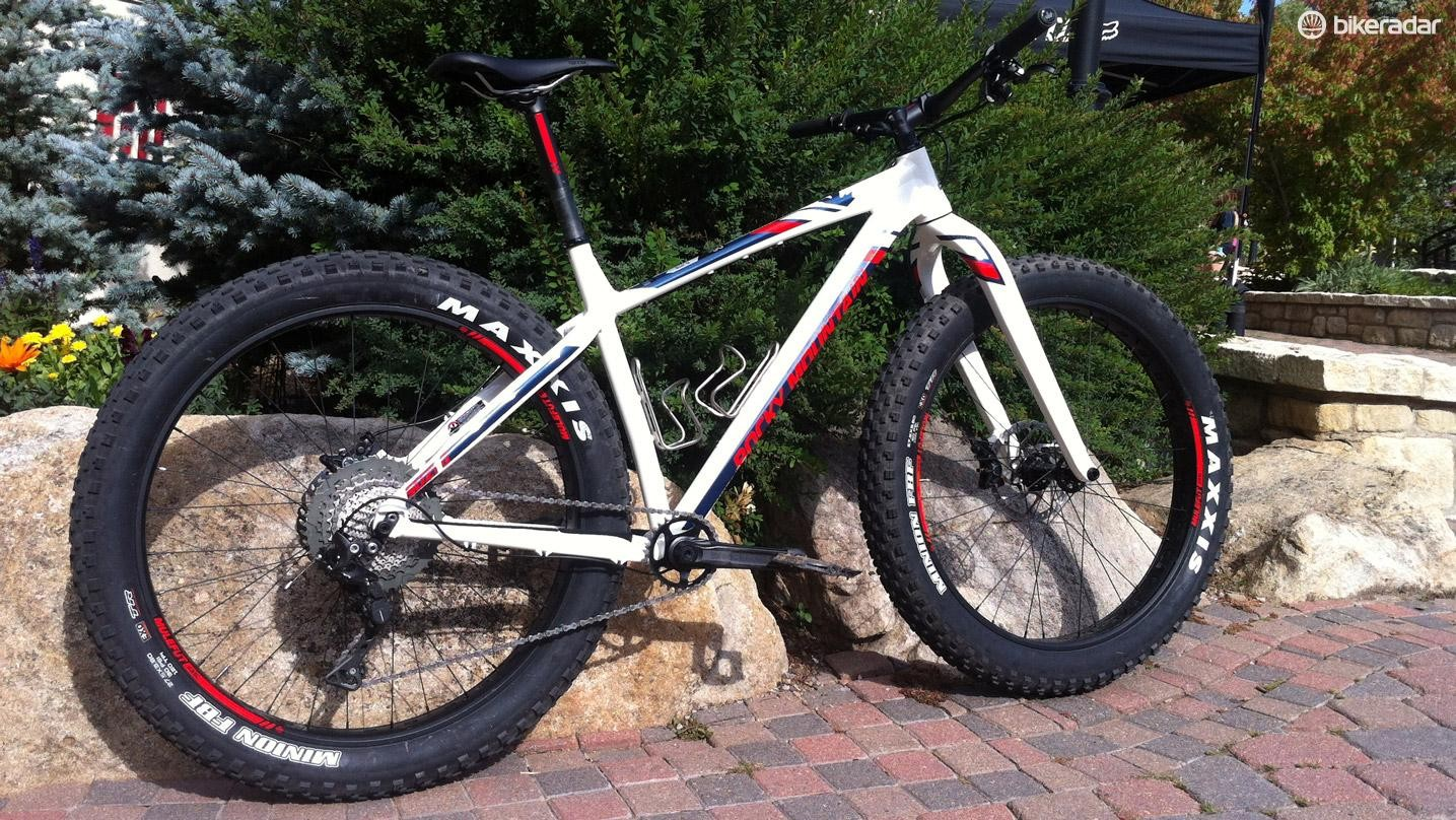 Here it is, the bike that mixes fun and fat for mountain bikers, Rocky Mountain's SuziQ
