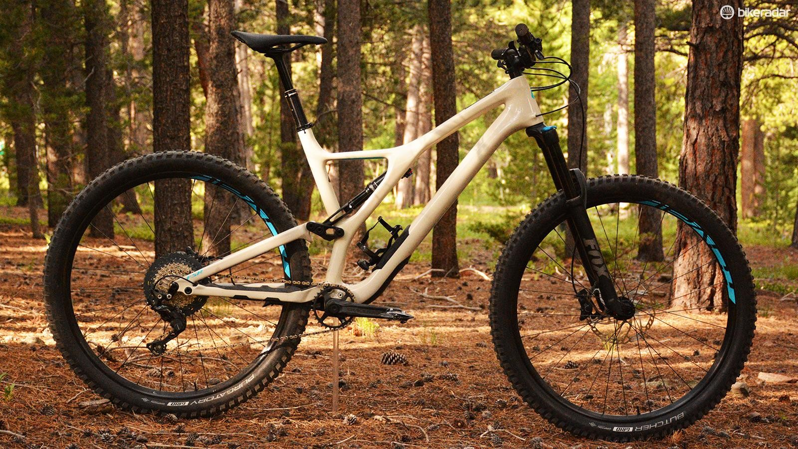 Specialized's Stumpjumper Comp Carbon 29 is the brand's entry level carbon trail bike