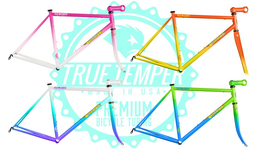 Fat Chance's Slim Chance road bike returns with four classic fade paint jobs available