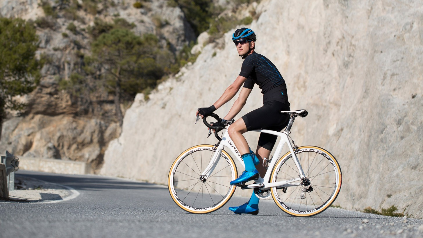 Shimano's S-Phyre line of clothing is built with high-performance and racing in mind