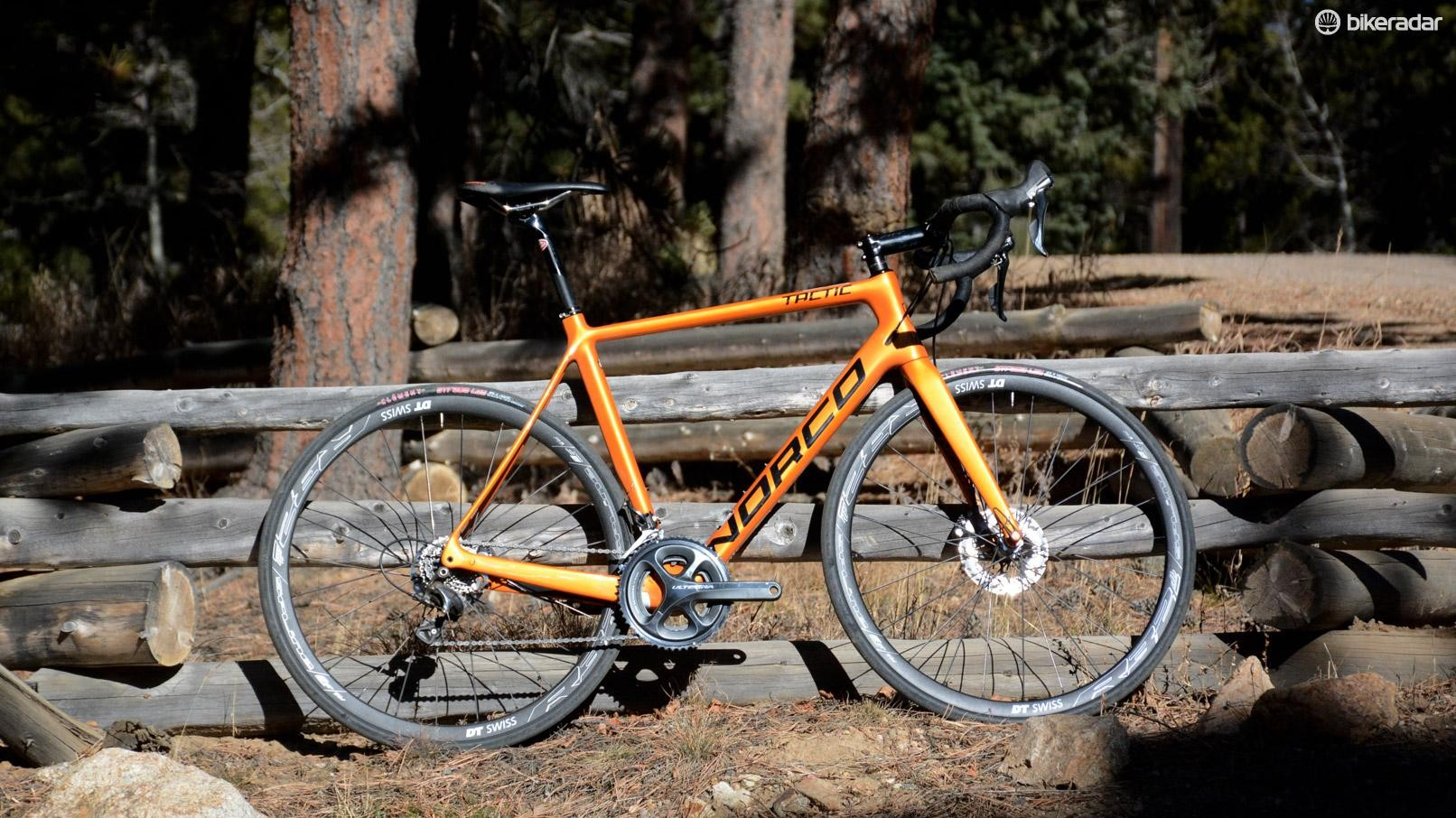 Norco's Tactic SL Disc Ultegra is a new breed of race bike