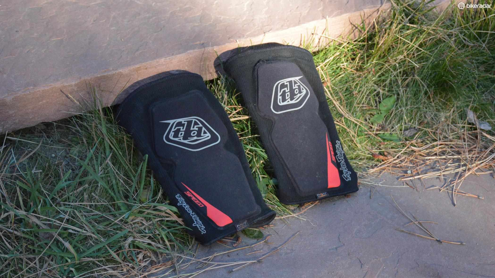 Troy Lee Designs' Speed Knee Sleeve pads are built for trail riding