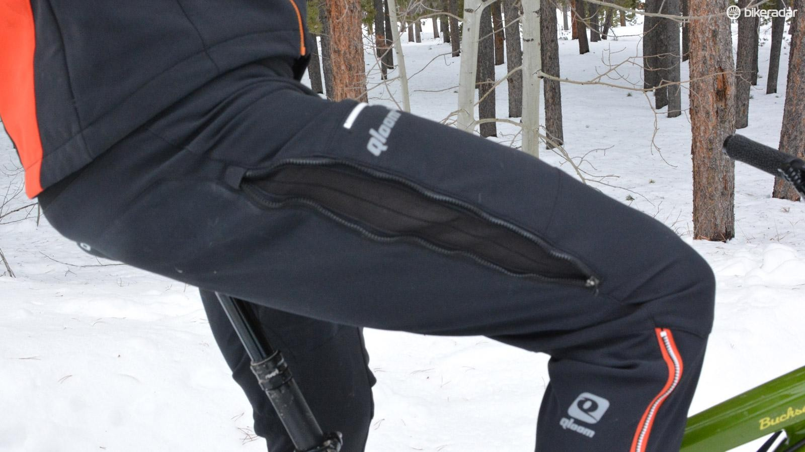 Fat bikers and winter riders take notice, Qloom's Watson Lake pants are exceptional