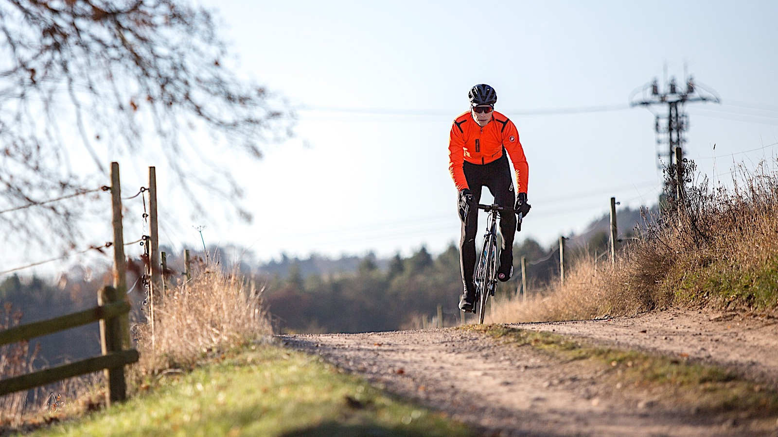 Castelli's new Rain or Shine line uses Gore and other fabrics for breathable, wind- and water-resistant performance