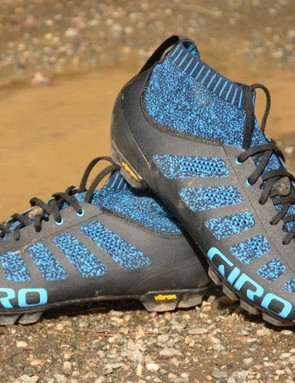 Giro's Empire VR70 Knit shoes are certainly unique