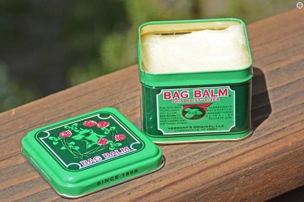 Bag Balm has been around for 118 years and recently been a secret of cyclists