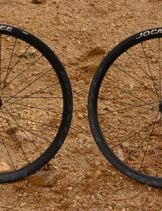 Boyd's Jocassee wheels are 27.5in gravel hoops
