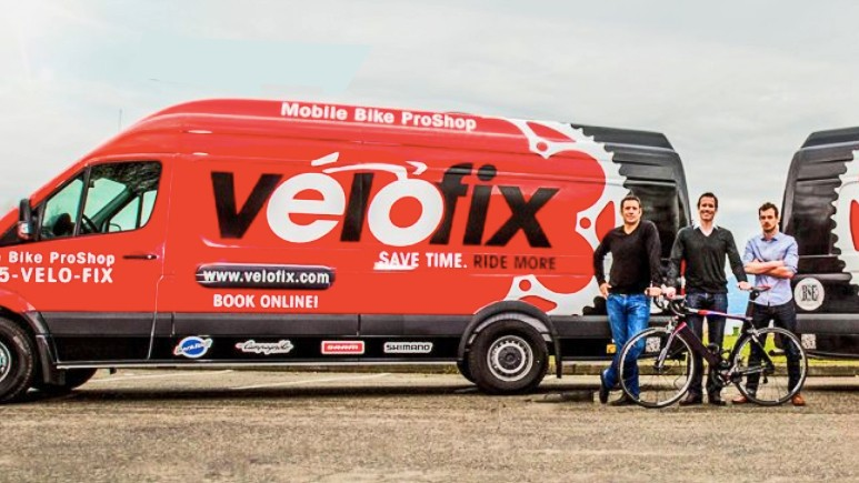 Mobile bike shop company Velofix has partnered with Canyon USA