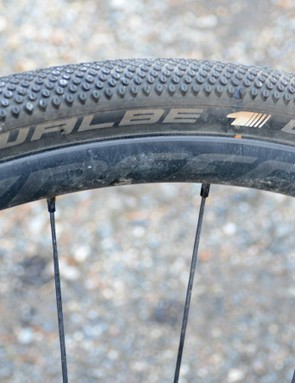Looking at Schwalbe's G-One tires makes it clear that speed is their primary objective