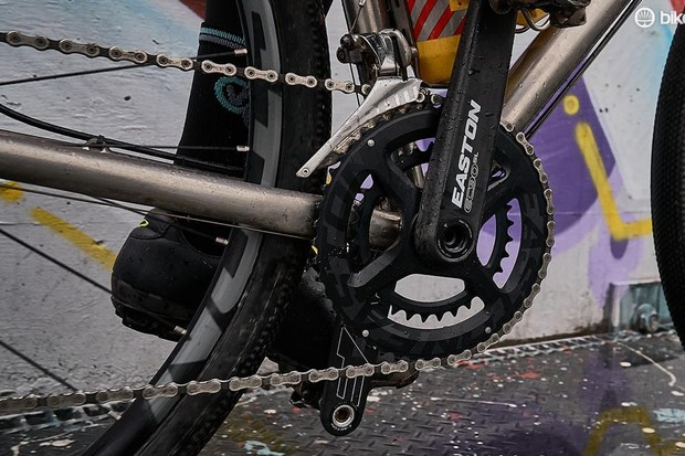Easton introduces double chainrings for gravel, cyclocross and adventure drop-bar bikes