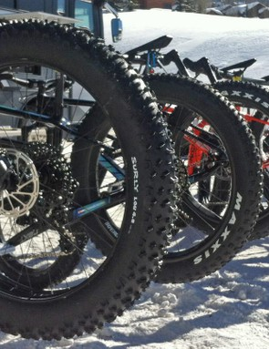Tire widths, suspension choices and even a ski up front, the trends for fat bikes run the gamut
