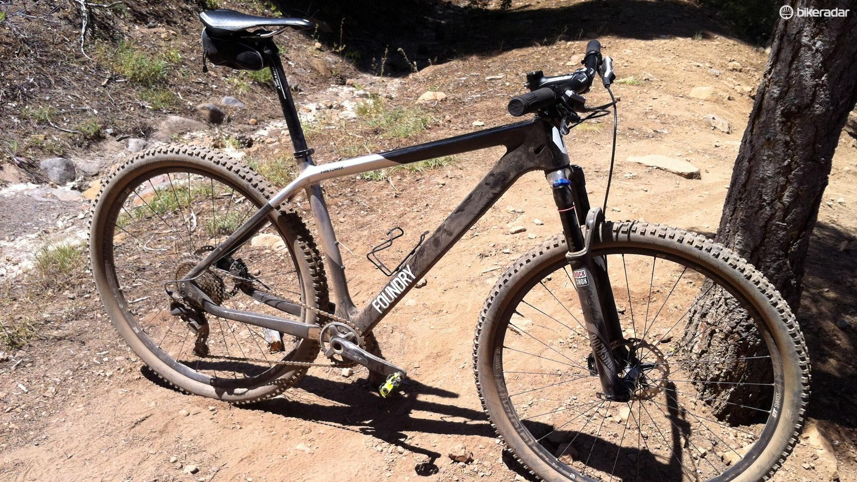 Want XC speed? You can find some right here with Foundry's Firetower XT