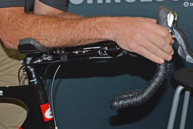 Morf Technology's Trifold bars turn normal road bars into aero bars