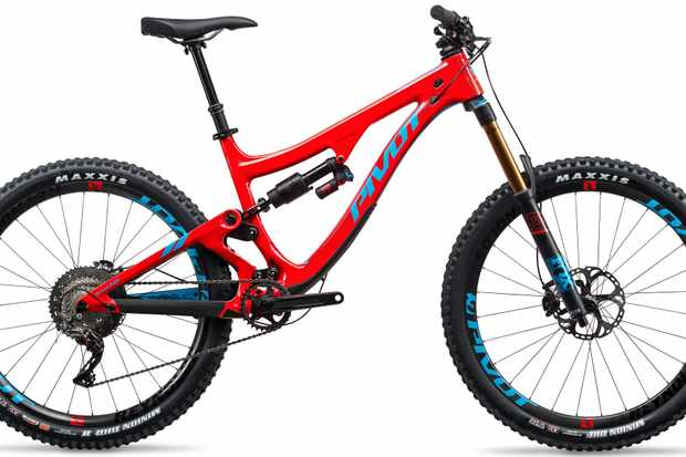Pivot's reintroduced Firebird is now a 170mm travel carbon enduro and bike park machine