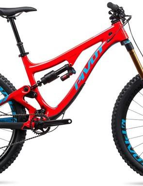Pivot's reintroduced Firebird is now a 170mm travel carbon enduro and bike park machine