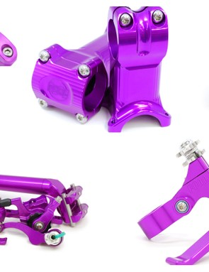 The nineties never really went away did they? Paul is re-introducing its aluminum components in ano purple