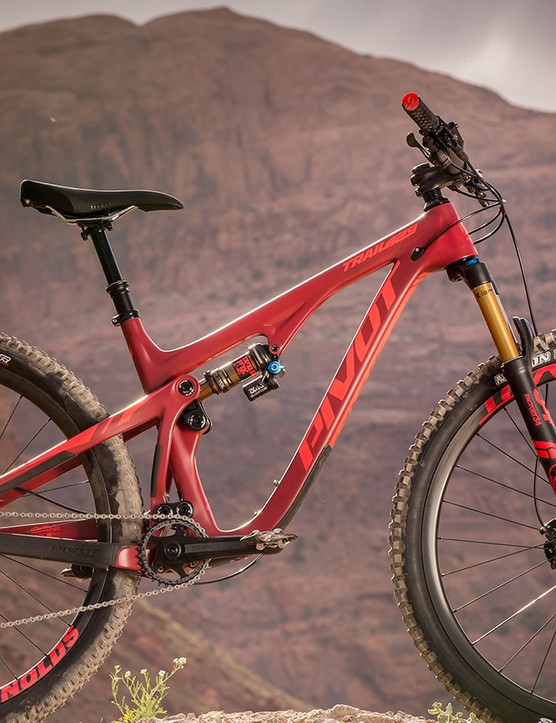 Pivot's Trail 429 is a 120mm travel 29er with the capability to go beyond its suspension category