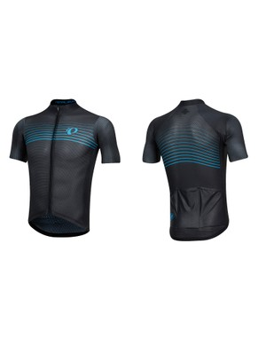 The Speed Sleeves on the PI / Black Speed Mesh jersey are said to reduce aerodynamic drag and are patented