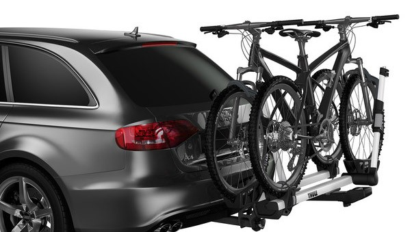 Hitch-mounted bike racks tend to be the easiest to load and unload