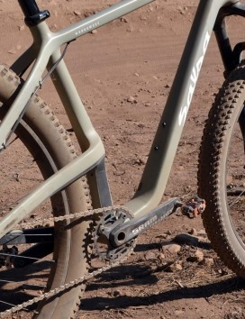 Plus-size rubber might not be the ticket for racing but ticks the fun box for riding