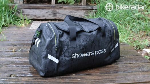 Showers Pass Refuge Waterproof Duffel bag hauls 51.3 litres of gear in weatherproof protection