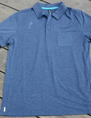 Specialized makes a lot more than bikes, including this wool blend Utility Polo