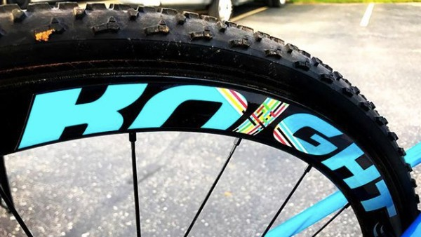 With Stikrd's custom graphics, you can match your frame, team colors or whatever you want