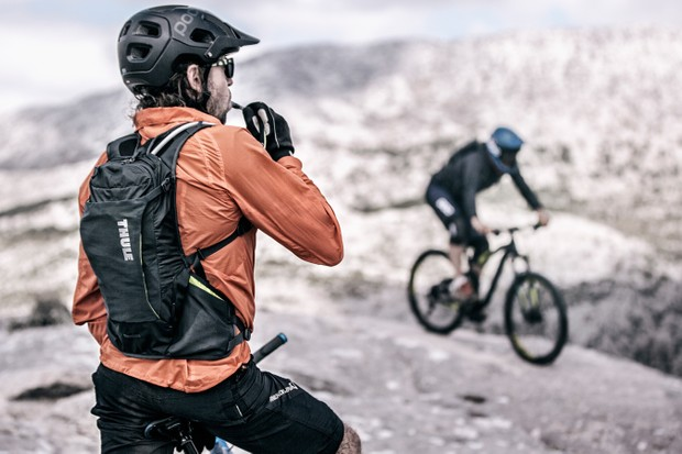 Thule is looking to carry your gear when on the bike as well as on your car