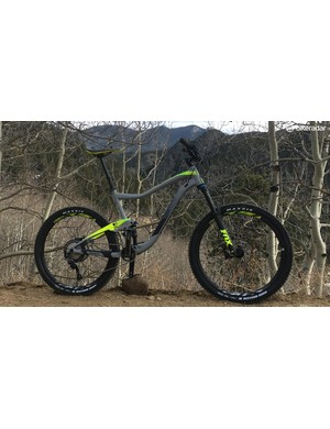 For less than $3,000, Giant's Trance 2 features Fox suspension and a Shimano SLX drivetrain and discs