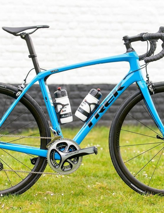 Trek didn't change the bike's geometry – it changed how the tubes interact with each other