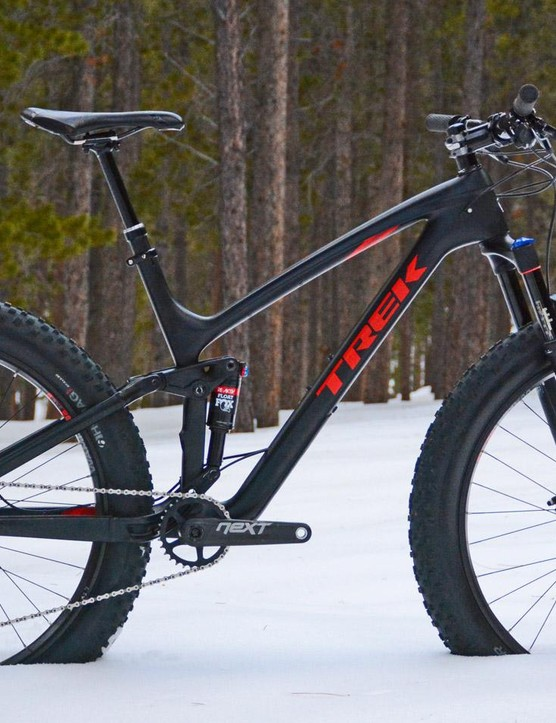 Trek's Farley EX 9.8 mashes fat bike and trail bike performance together in one package
