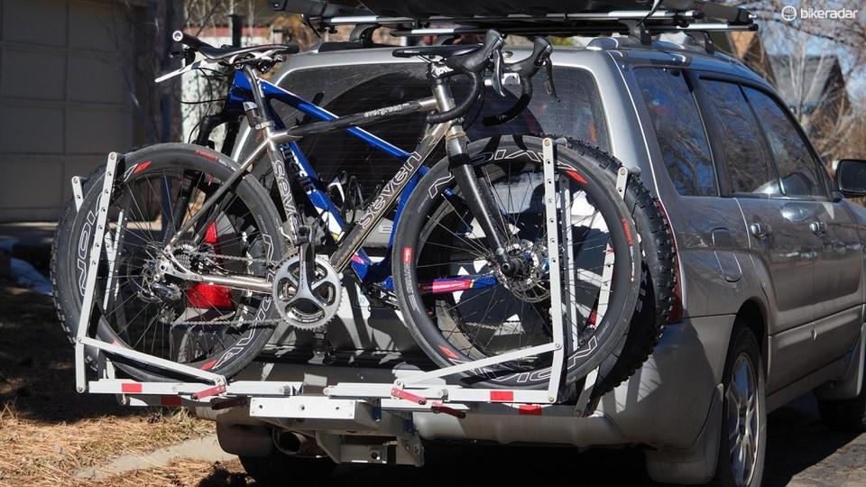 Hitch Bike Rack Reviews >> 1up Usa Quik Rack Bicycle Rack Review Bikeradar