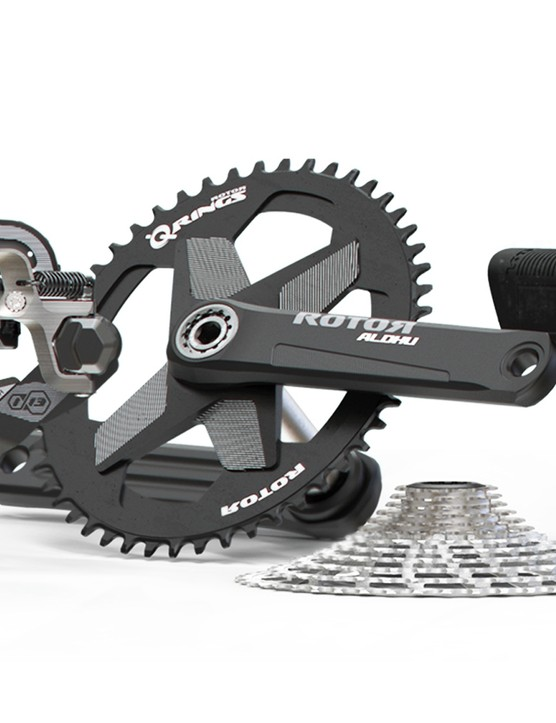 The 13-speed compatible groupset is a really interesting option
