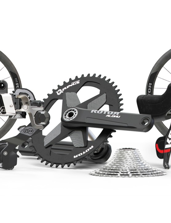The Super Light groupset loses the power meter