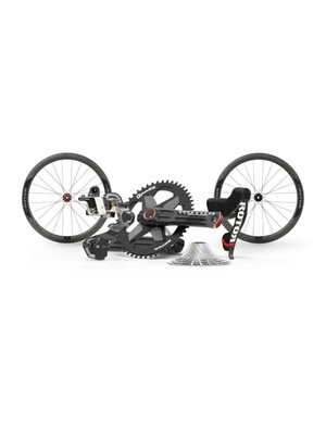 The 1x13 Ultimate Performance groupset package sits at the top of the range