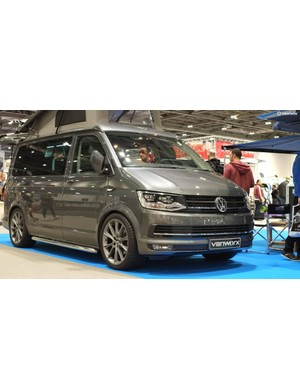 It's safe to say that a lot of attendees will have van envy after seeing what Vanworx have on display
