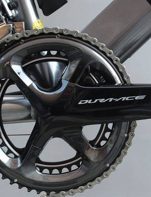Possibly the strangest use of Dura-Ace components that we've seen to date