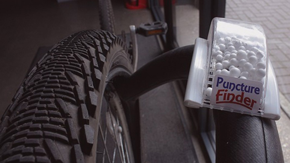 The polystyrene beads are said to be taken from the aerospace industry