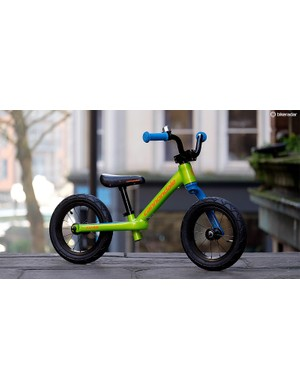 You can now buy a balance bike with a Lefty fork and the world is a better place for it