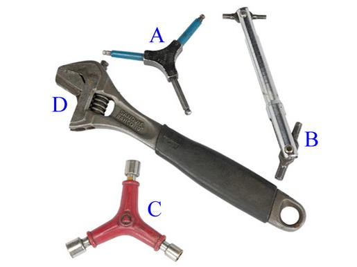 Allen Keys and Socket Spanners