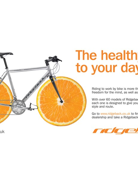 One of Ridgeback's Tube ads