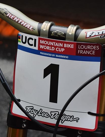 They don't give these plates away; you have to earn it. The challenge for Gwin now is to hang on to it