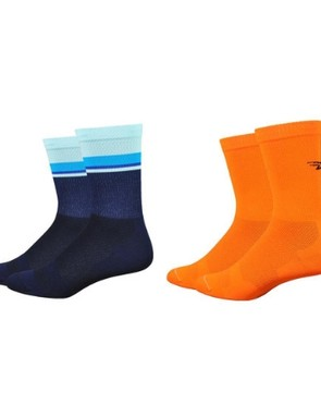 Levitator Lite socks from Defeet come in a huge range of colours and patterns