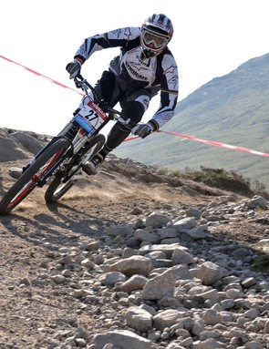 For Greg Minnaar this was as close to a home victory