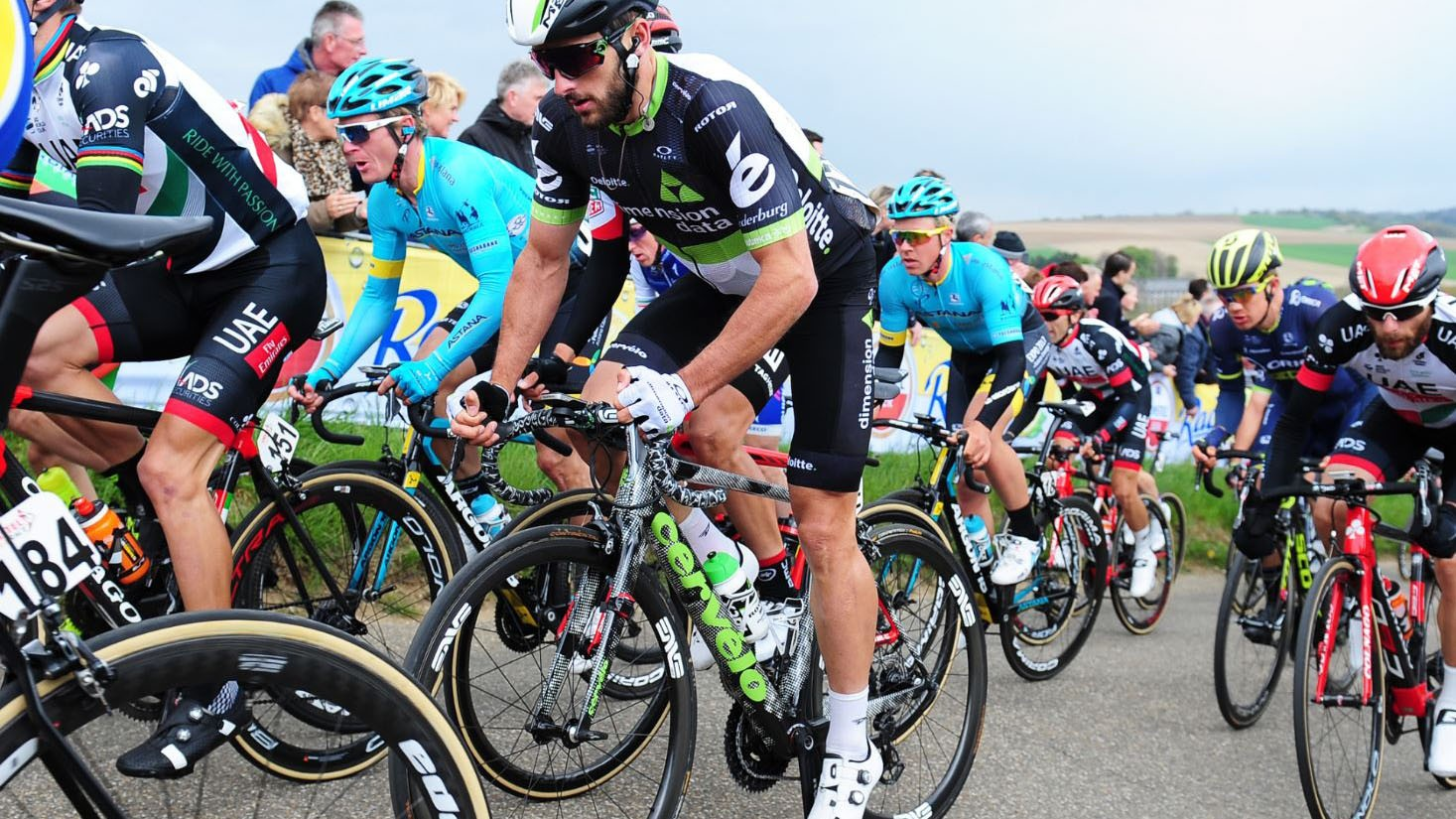 Nathan Haas raced the new OSPW System to fourth at Amstel Gold