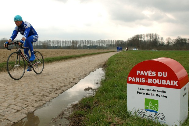 It could be a wet Paris-Roubaix this year
