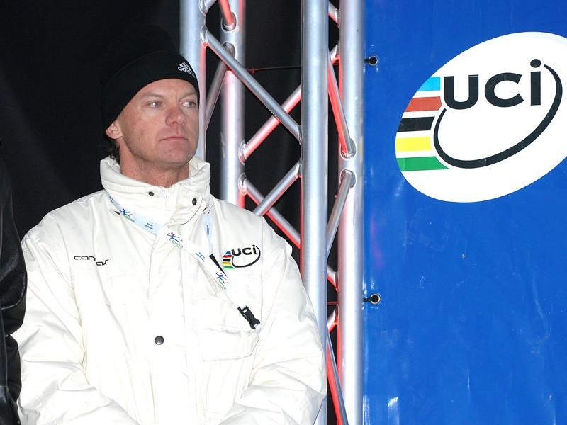 UCI mountain bike coordinator Peter van den Abeele