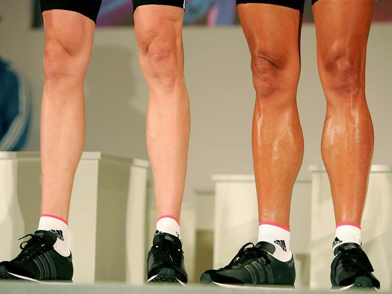 Shaving works on all sorts of legs