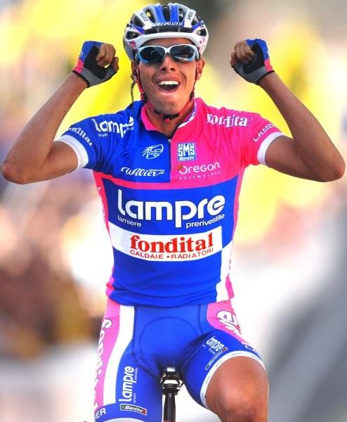 Cycling : 91e Tour of Flanders Arrival / BALLAN Alessandro (Ita) Celebration Joie Vreugde Brugge - Meerbeke ( 259 Km) Ronde Van Vlaanderen / Tour de Flandre UCI Pro Tour / (c)Tim De Waele